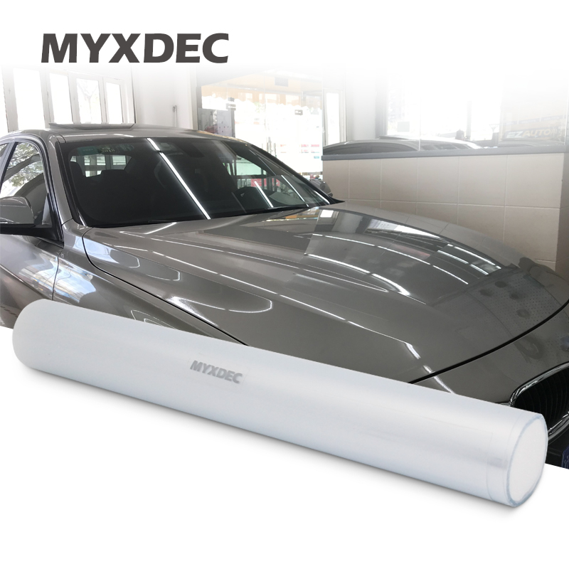 152CMX 10/20/30cm Rhino Skin Sticker Protection Anti-dirty Film Vinyl Clear Transparence For Auto Car Bumper Hood Paint