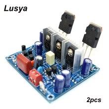 2 pièces HiFi MX50 SE 2.0 double canal 100 W + 100 W stéréo amplificateur de puissance kit de bricolage et carte finie
