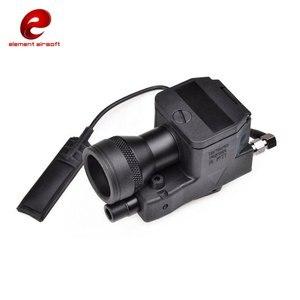Image 2 - Element Airsoft eLLM01 broń lekka nowa wersja w pełni funkcjonalna wersja IR czerwone światło laserowe LED EX214 nowa wersja