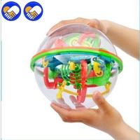Ein SPIELZEUG Ein TRAUM 138 Schritte Big Size 3D Perplexus Maze Ball magie Rollmarmorbrunnen Puzzle Cube Lustig Globe Ball Gehirn Teaser Spiel 20 cm