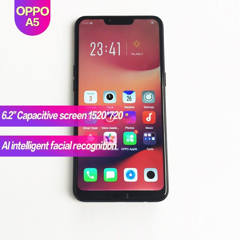 OPPO A5 téléphone intelligent Android Original 6.2
