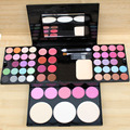 2016 Nova Maquiagem Profissional Set Pro 24 Full Color Eyeshadow 8 Cores Lip Gloss 4 Blush Palette Kit Cosméticos Pressionado pó