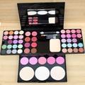 2016 Nuevo Maquillaje Profesional Set Pro 24 A Todo Color de Sombra de Ojos 8 brillo de Labios de Color 4 Paleta de colores Kit de Cosméticos Presionado polvo