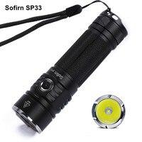 Sofirn SP33 Mini Powerful LED Flashlight 18650 Torch Light CREE-XPL2 LED Mini Handy Flashlight 6 Modes Portable Lantana Camping