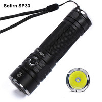 Sofirn sp33ミニ強力なled懐中電灯18650トーチライトCREE-XPL2 ledミニハンディ懐中電灯6モードポータブルlantanaキャンプ