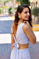 Dotfashion-Striped-Women-Two-Piece-Set-Bow-Tie-Open-Back-Knotted-Crop-Tank-Top-With-Shorts-Backless-2017-Sexy-Women-Outfit-4