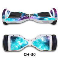 New Color 6 5 Inch Electric Scooter Hoverboard Skateboard With Bluetooth Speaker And Top Led Lights