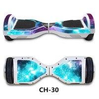 جديد اللون 6.5 بوصة الكهربائية سكوتر hoverboard سكيت مع بلوتوث و أعلى الصمام المصابيح الكهربائية سكوتر تحوم مجلس