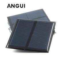 100mA 120mA 150mA 250mA 300mA 350mA 435mA 500mA солнечная панель 1 в 1,5 В 2 в мини элемент для солнечной батареи портативное зарядное устройство для телефона