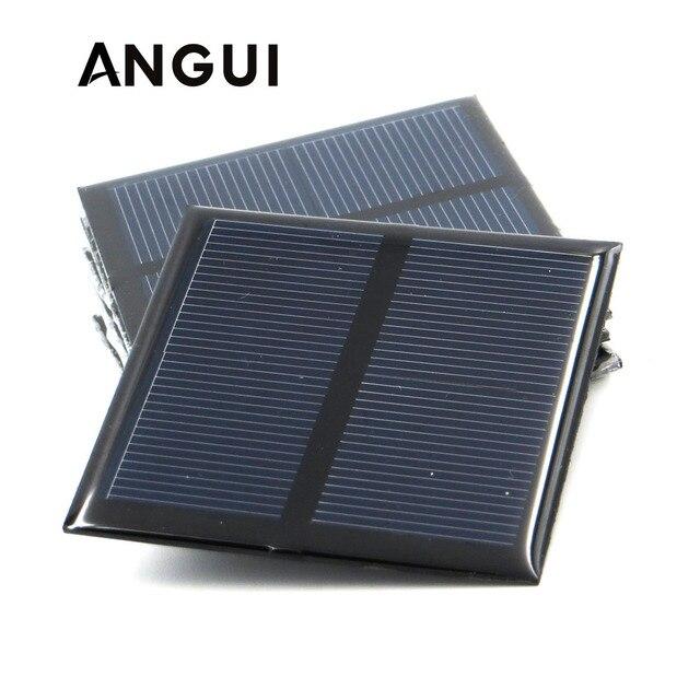 100mA 120mA 150mA 250mA 300mA 350mA 435mA 500mA แผงพลังงานแสงอาทิตย์ 1V 1.5V 2V MINI พลังงานแสงอาทิตย์แบตเตอรี่ชาร์จโทรศัพท์แบบพกพา