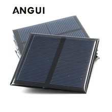 100mA 120mA 150mA 250mA 300mA 350mA 435mA 500mA Solar Panel 1V 1.5V 2V Mini Solar Battery Cell Phone Charger Portable