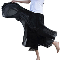 Hot Promotion 2014 Bohemian Princess Skirt Pleated Maxi Skirt 7 Colors Amazing Chiffon Women Long Skirt