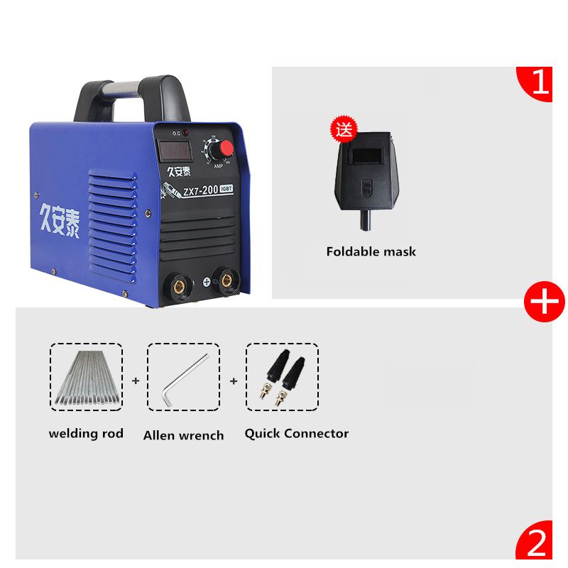 220V LED digital display MINI inverter MMA DC welding machine welder 200A welder machine plasma cutter welder mask for welder machine