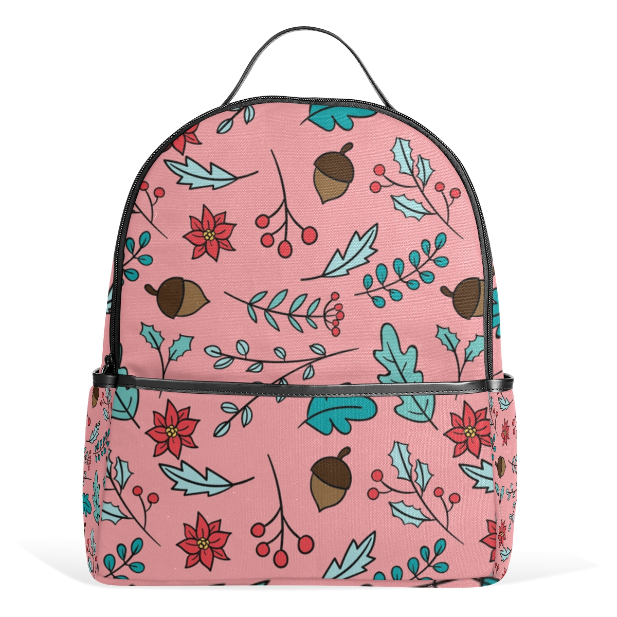 Popular Pink Flower Backpack-Buy Cheap Pink Flower Backpack lots ...