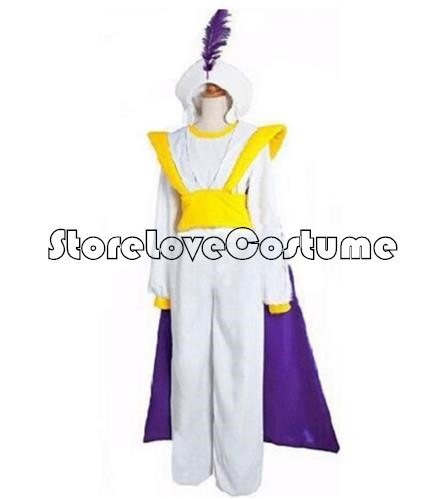 Halloween Party Aladdin and His Wonderful Lamp Prince Cosplay Costume US Ship