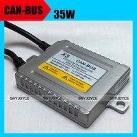 [נטל רק] 2X12 V 35 W חינם שגיאת canbus hid נטל slim מתכת נטל עבור 9012 H7R PSX24W H15 קסנון נטל מבטל