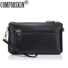 COMFORSKIN Brand Bolsas Feminina European And American Style Women Messenger Bag 2018 New Arrivals Split Leather Bags For
