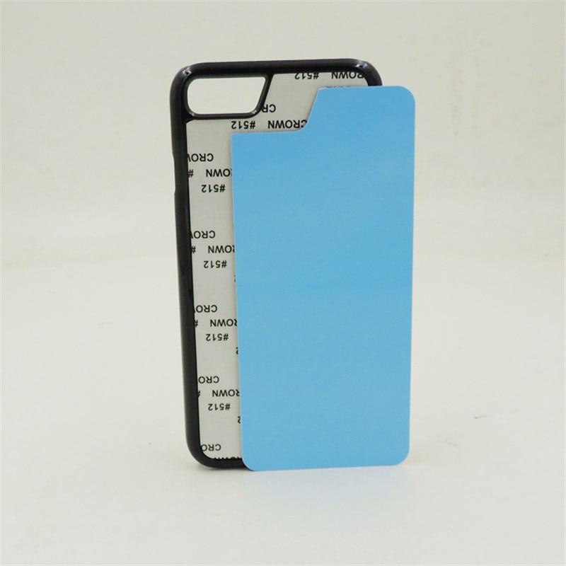 2D Sublimation Blans Plastic Case for iPhone 7 7 Plus 8 8 Plus - Բջջային հեռախոսի պարագաներ և պահեստամասեր - Լուսանկար 4