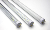 T8 LED Tube Light Frosted cover High brightness Cool white SMD2835 60leds 1200LM 10W 0.6m