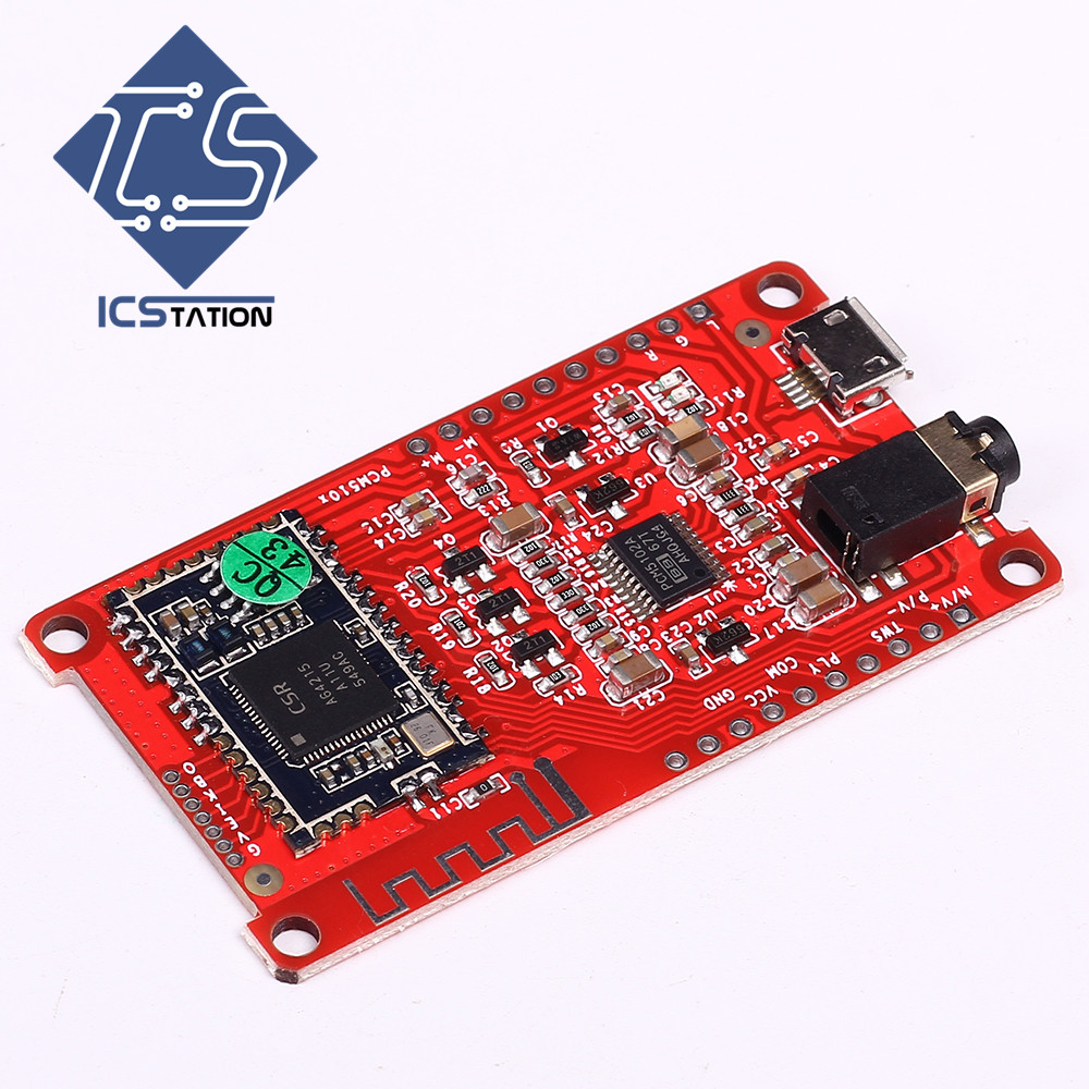 CSRA64215 4.0 4.2 Bluetooth Module HiFi Digital Amplifier Low Power Consumption APTXLL Lossless Compression I2S Wireless Board adjustable bass treble two divider hifi module game pwm modulation digital amplifier for speaker audio crossover repair parts