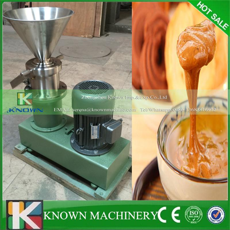Superior ultrafine grinding kinds of nuts peanut butter sesame paste chilli sauce colloid mill seeds grinder machine