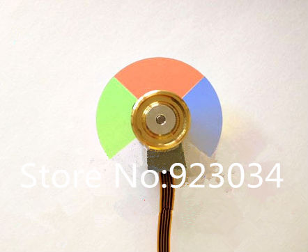 Wholesale Projector Color Wheel for XR-10SA Free shipping xr e2530sa color wheel 5 color beam splitter used disassemble