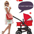 hot high-landscape two-in-one baby stroller can be baby feed chair convertable cart can sit can lie baby stroller