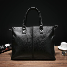 Famous Brand Men Bags Men's Business Briefcase Computer Laptop Handbag Bag Leather Messenger bags Shoulder Bag Man цена в Москве и Питере
