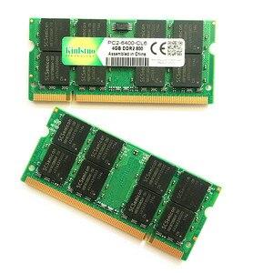 Kinlstuo pamięć ram ddr2 4gb 800Mhz pc2-6400 ddr2 ram 4gb 667 pc2-5300 sodimm notebook 4gb ddr2 pamięci kompatybilny z 2gb