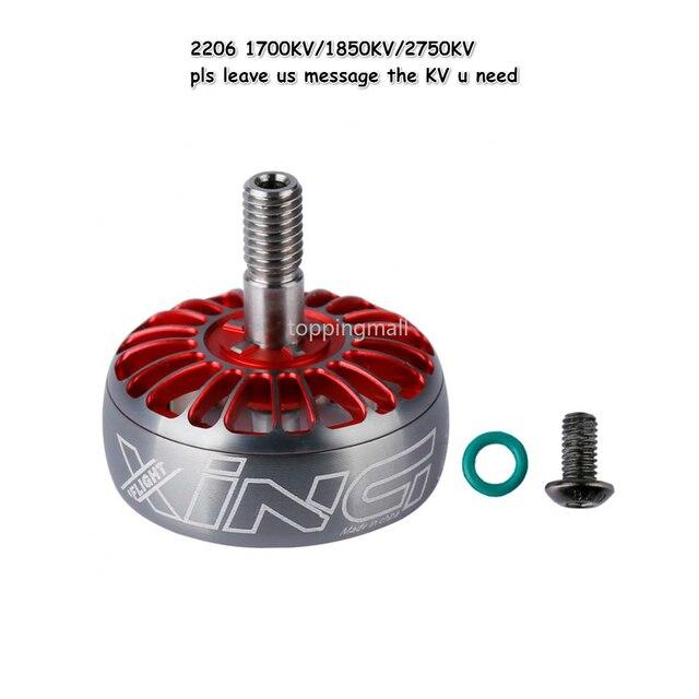 IFlight XING Brushless Motor Rotor 1700KV 1800KV 2450KV 2750KV for 2206 2207 2208 2306 RC FPV Racing Drone Spare Part DIY