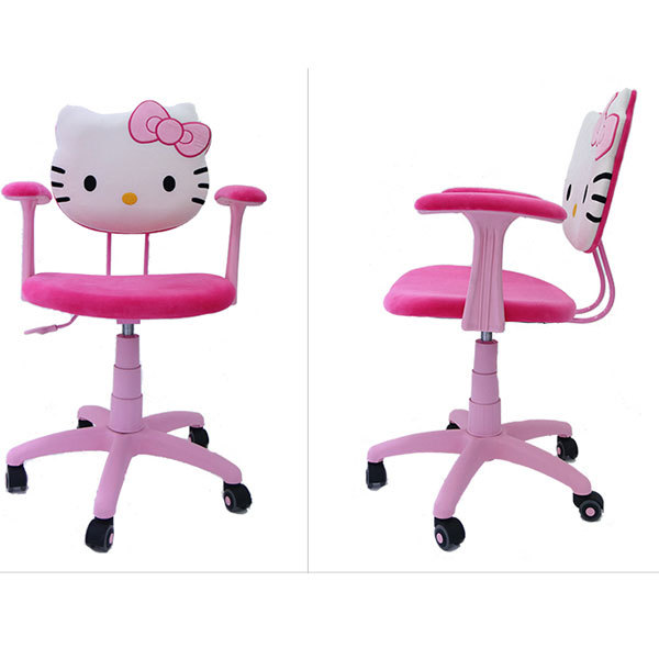 Hello Kitty Desk Chair Chairs At Kmart Hellokitty Csk 009 Adjutable Arms Task Office For Childern Girl Boy Pc Gaming Study Reading In From Furniture On
