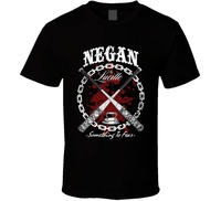 2018 New Summer Men Hot Sale Fashion Newest Funny Negan Lucille The Walking Dead TV Show