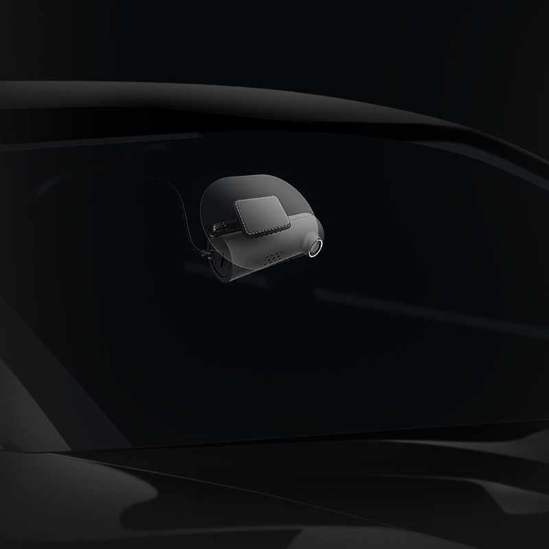 70mai سيارة التصميم كهرباء ساكنة ملصق 3m الغراء اكسسوارات مجموعة ل 70mai Pro