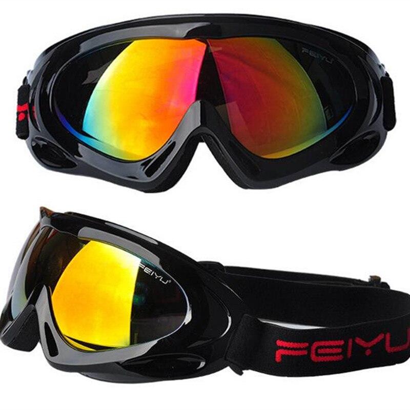 2017 New Snow Skiing Eyewear Children Professional Ski Goggles Kids Lens UV400 Anti-fog Skate Glasses Snowboarding Boy Girl