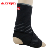 KuangMi Sports Basketball Feet Support Volleball Badminton Ankle Protector Breathable Anti-Wrench Protection km3332