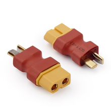 NEW Wireless Adapter Adapter Female T Plug to XT60 Female T Plug to XT60 Female Connector No Wire Adapters RC Battery
