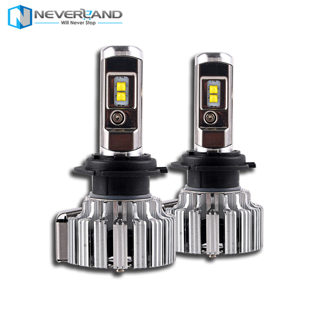 Car LED Headlights H7 H4 H1 H3 H11/H8/H9 HB3/9005 HB4/9006 880 9012 9000LM Super Power Replacement LED Bulb Kit