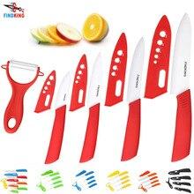 Juego de cuchillos de cocina de Zirconia de cerámica de alta calidad con cuchillo de cerámica 3 4 5 6 pulgadas cubiertas peladoras para pan de carne frutas cuchillos