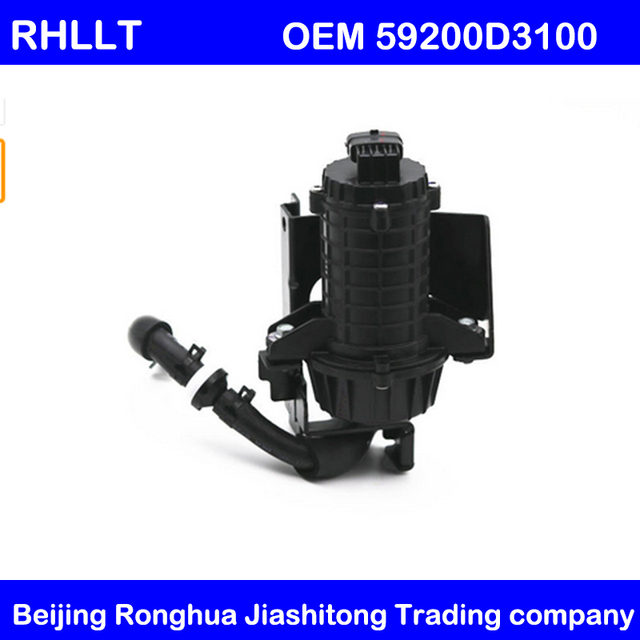 Genuine accessories OEM 59200D3100 59100D3100 vacuum pump assembly for Hyundai Tucson TL 1.6T 2015 2018