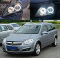 Para OPEL Astra H 2004-2011 Faros Halógenos Excelente kit angel eyes iluminación Ultra brillante CCFL Angel Eyes kit Anillo de Halo