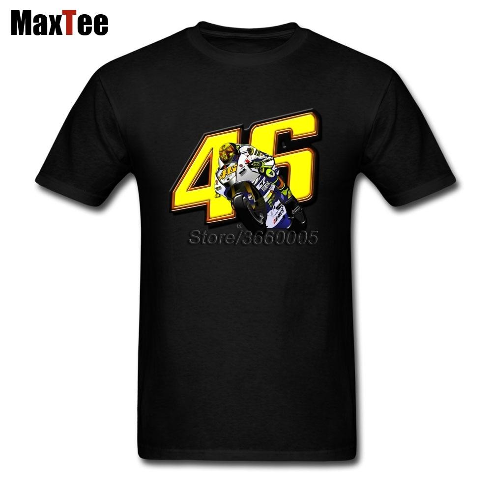 Rossi VR46 Tees Shirt Men Boy Leisure Custom Short Sleeve Boyfriends 3XL Family Motor GP Shirts