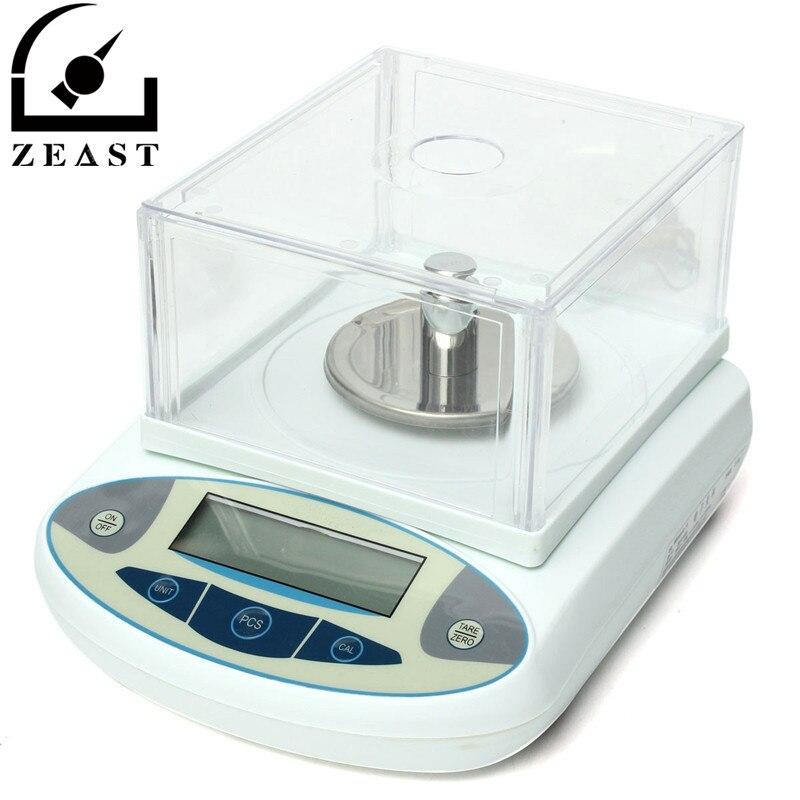 Brand New 100x0.001g 1 mg Numérique Laboratoire Balance Analytique Électronique Balance De Précision balance