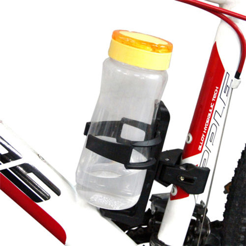 Outdoor Bicycle Bottle Holder Motorcycle Quick Release Cycling MTB Road Mountain Bicycle Water Bottle Cup Holder Beverage Black