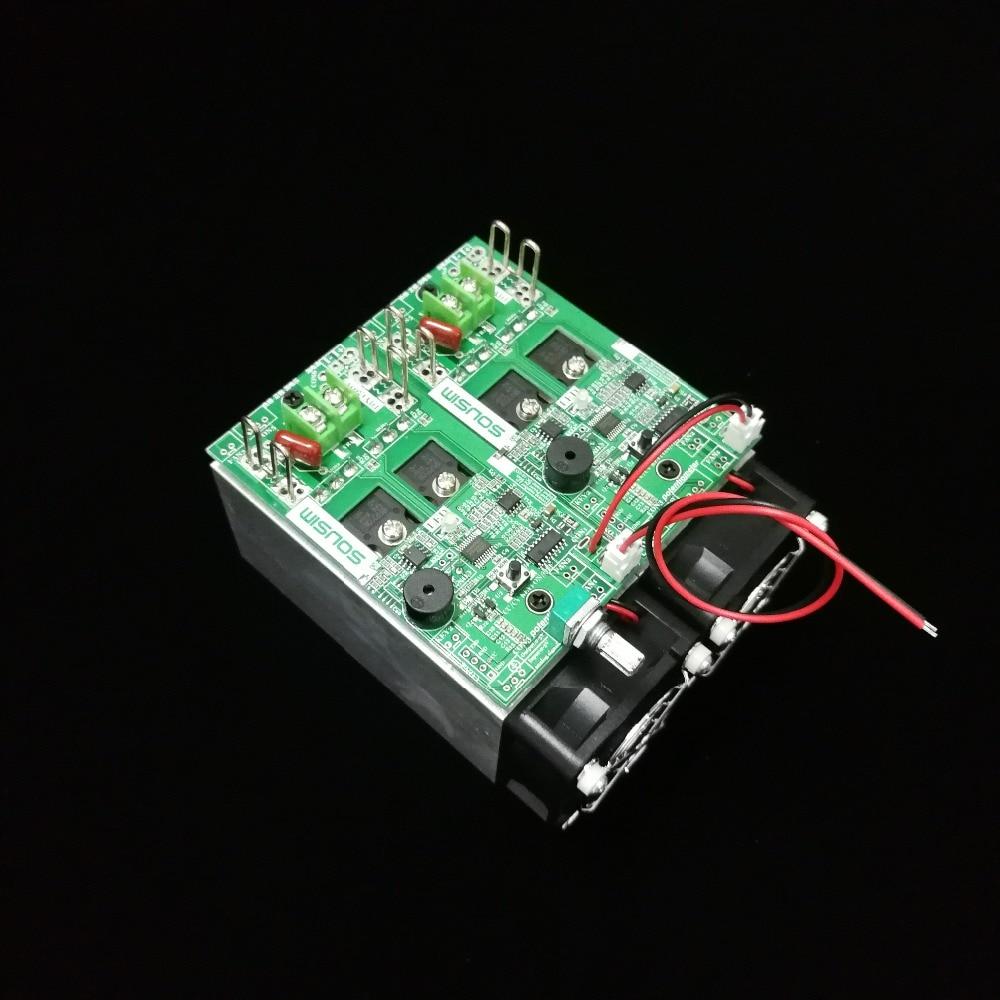 Module de résistance de vieillissement de charge électronique charge de tension constante charge de courant constante charge réglable nouvelle version DIY300W