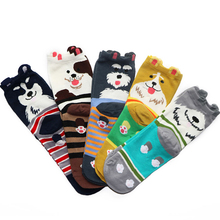 1Pair Cute Cartoon Men Novelty Socks Art Odd Future Funny Socks Design Low Cut Ankle Socks