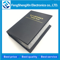170values X25pcs 4250pcs Sample Book  0805 Smd Resistor 1% 0r~10m  Sample Book  Resistors Assortment Kit