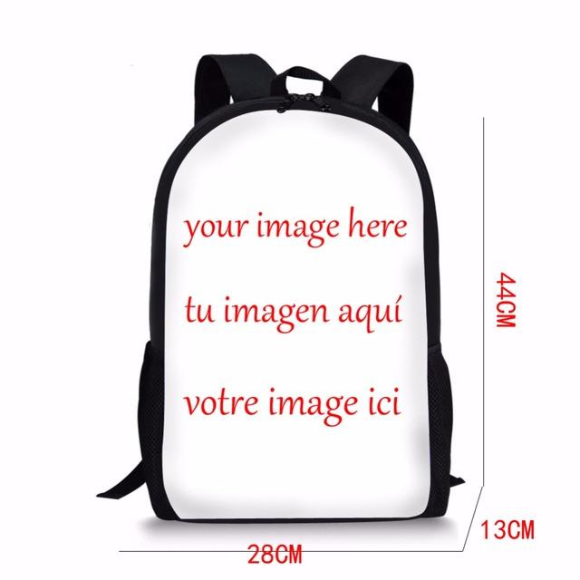 School 3D Dog Printed Backpack