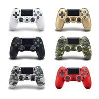 Новые Bluetooth 4,0 контроллер для SONY PS4/PS4 про тонкий геймпад для Игровые приставки 4 беспроводной джойстик консоль для PS3 для Dualshock