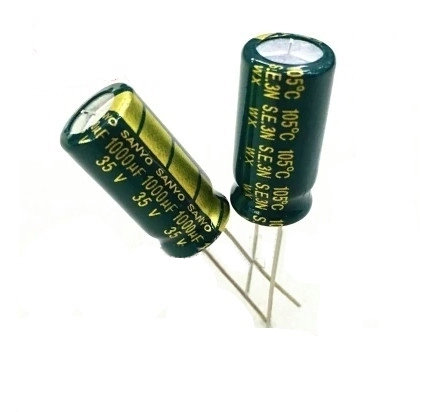 High quality Free shipping 10pcs High frequency and low resistance 35V1000UF Electrolytic capacitor 1000UF 35V 10pcs high quality 25v68uf high frequency and low resistance long life electrolytic capacitor 68uf 25v 5x11