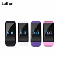 2017 Bluetooth Smart Watch D21 Wristband Smartwatch Bracelet Band Heart Rate Smartband Activity Tracker Fitness for IOS Android